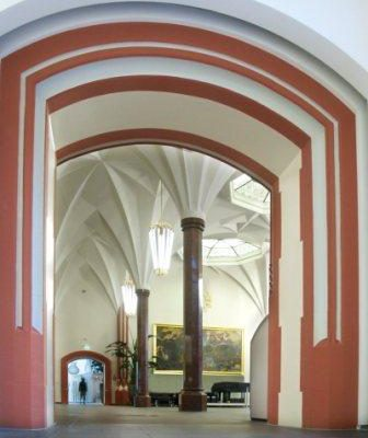 Ausstellung in der Meckelhalle der Freiburger Sparkasse