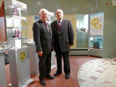 Ausstellungseröffnung junge Cellinis 2009 Freiburg