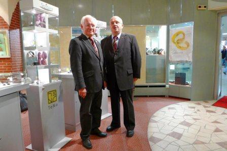 Hans J. Wiegleb zu Besuch im Solitaire