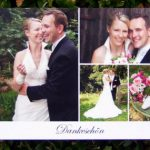 Dankbares Brautpaar