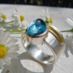 Ring Silber Gold von ARS