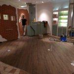 Solitaire - neuer Bodenbelag
