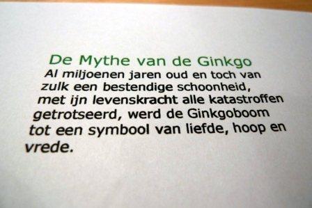 de mythe van de ginkgo