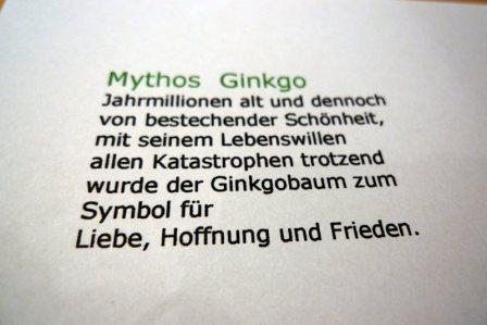 Mythos Ginkgo