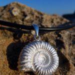 Anhänger Ammonit Silber