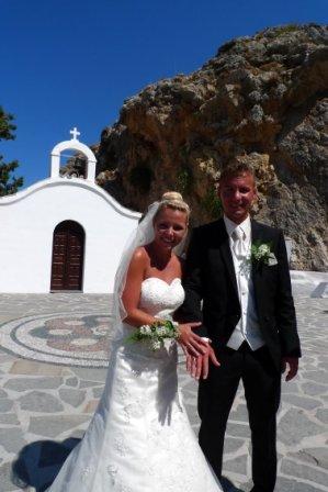 Brautpaar D. + S. Faller