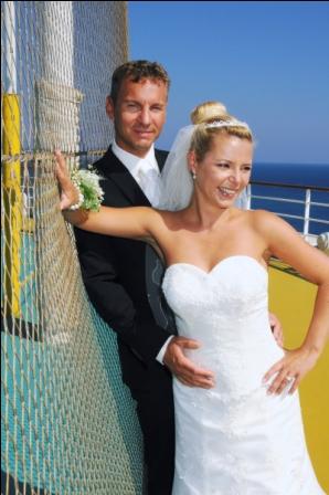 Brautpaar Susan + Daniel Faller