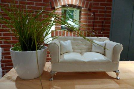 Das weiße Sofa