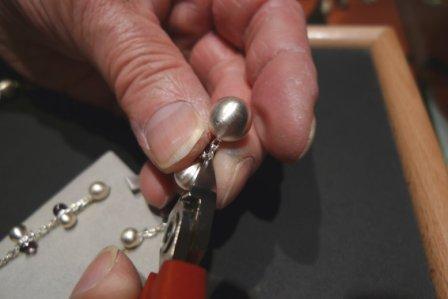 Ohrhänger - Kugel entfernen