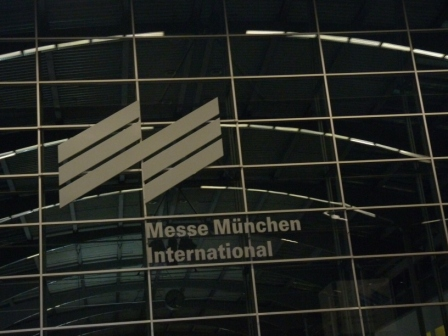 Außenfassade Haupteingang Inhorgenta München