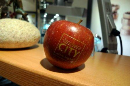 Schwarzwald City Apfel gelasert