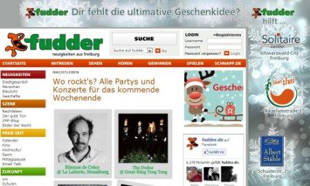 Screenshot Fudder.de 11.12.2012