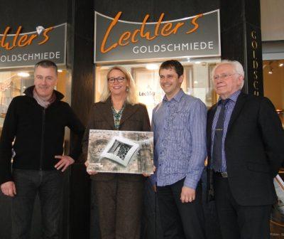 Lechler baut mit: Spende aus Münsterschmuckverkauf