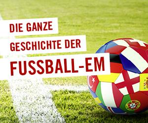 Die ganze Geschichte der Fußball-EM