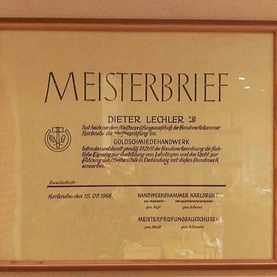 Herzlichen Glückwunsch Dieter Lechler!